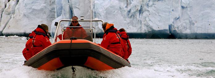 Greenland Hotel Adventure, boat