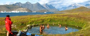 south greenland best adventure hot springs