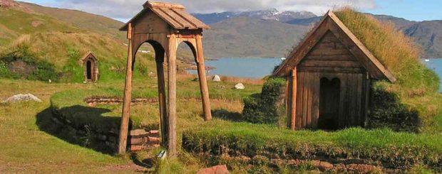 Iceland Greenland, Qassiarsuk viking reconstructions