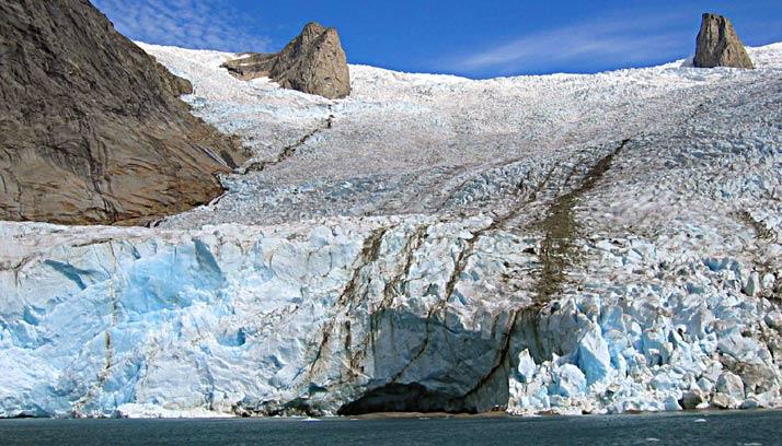 Trekking Greenland, Tasermiut glacier