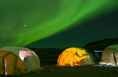 greenland northern ligths camp