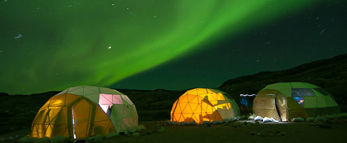 Greenland Northern Lights 8 Day Trip Mid August Onwards