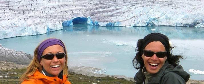 Greenland ice cap, Qaleralik view point