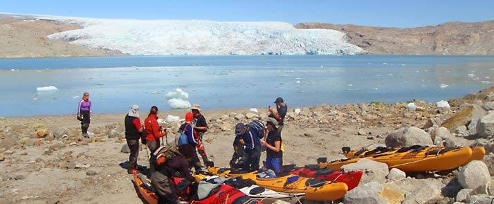 kayaking-in-greenland-qaleraliq glacier fronts