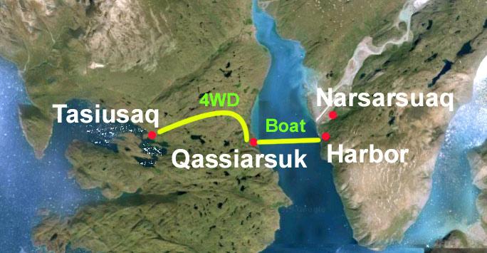 Kayaking Narsarsuaq