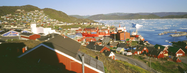 Narsaq, south Greenland