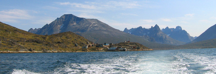 Tasiusaq, south Greenland