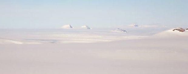 ice cap nunataks
