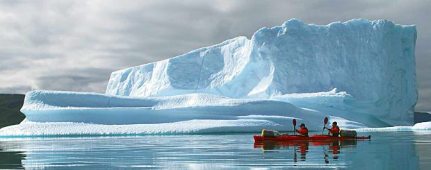 Logistics for kayaking expeditions in South Greenland