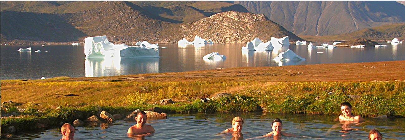 Uunartoq island hot springs