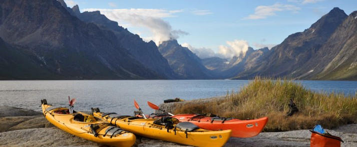 Sea kayak rentals greenland