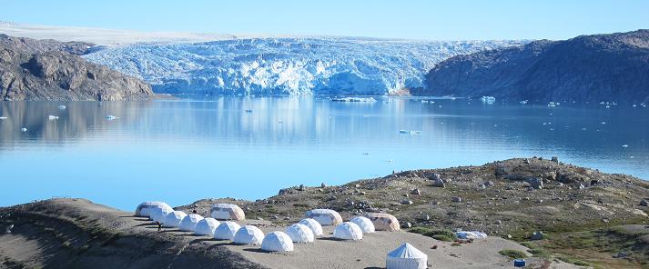 south greenland qaleraliq camp